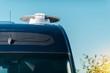 RV Camper Satellite TV Dish