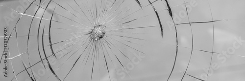 Fotografie, Tablou  Glasschaden