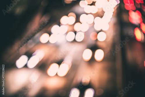 Traffic lights on the street