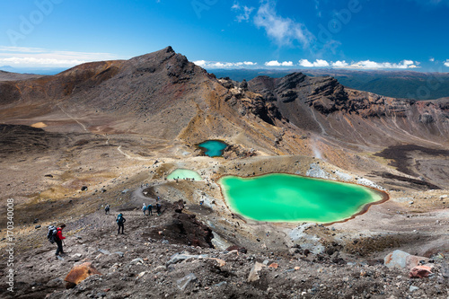 Fotografie, Tablou  Tongariro Alpine Crossing
