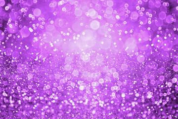 Dark purple glitter sparkle confetti background and invite for Halloween night, Mardi Gras, birthday party, club or Christmas