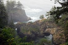 Natural Bridges Oregon Coast