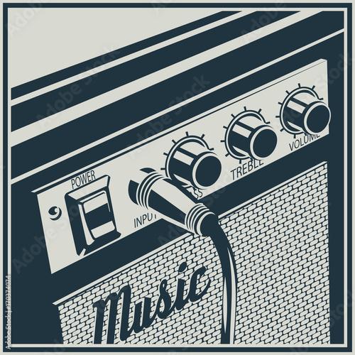 Fotomural Amplifier Symbol