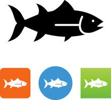 Tuna Icon - Illustration