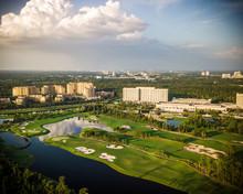 Aerial Of Florida Golf Course