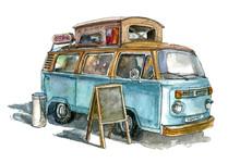 Street Coffee Van