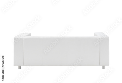 Surprising Sofa Isolated On White Background View From The Back Buy Ocoug Best Dining Table And Chair Ideas Images Ocougorg