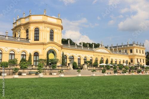 Montage in der Fensternische Schloss Die Orangerie in Kassel