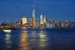 Manhattan Skyline at evening, New York City