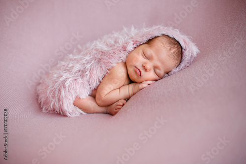 newborn baby girl