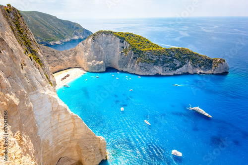 Navagio Shipwreck Zakynthos Fototapeta