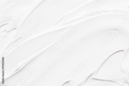 Stampa su Tela White texture of cream background