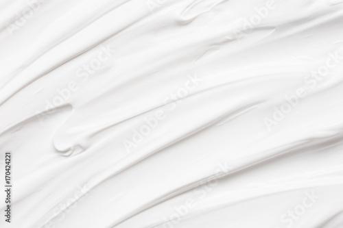 Obraz na plátně  White texture of cream background