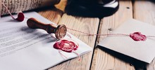 Notary Public Wax Stamper