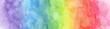 Leinwandbild Motiv Colorful Rainbow watercolor background - abstract texture