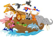 Cartoon Noah's Ark