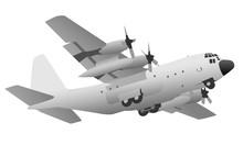 Military Transport Cargo Aircr...