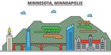 Minnesota, Minneapolis.City Sk...