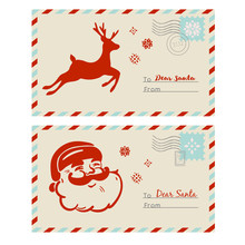 Mail To Santa Cards