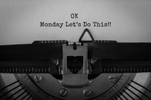 Text Ok Monday Lets Do This Ty...