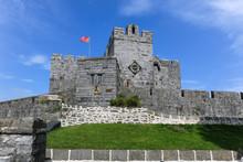 Castle Rushen In Castletown In...
