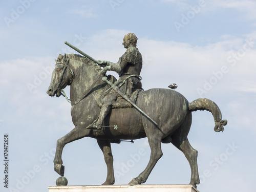 Photo  Equestrian monument at Gattamelata