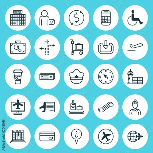 фотография Transportation Icons Set
