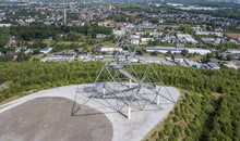 Aerial View Of Tetraeder On Th...