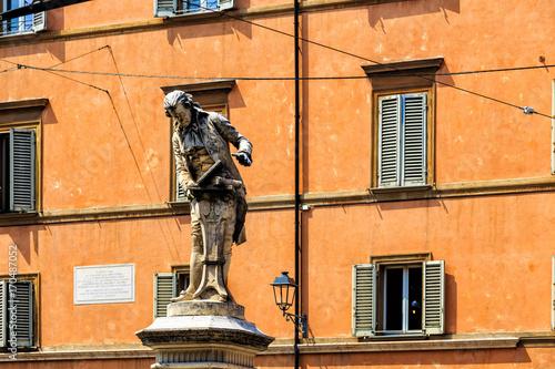 Statue of Luigi Galvani, Bologna, Italy Poster Mural XXL
