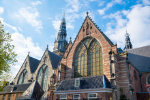 Old Church - Oude Kerk - The Oldest Building And Oldest Parish Church, Amsterdam
