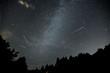 Leinwanddruck Bild - stelle cadenti nella notte di san lorenzo