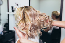 Beautiful Hairstyle Of Young W...