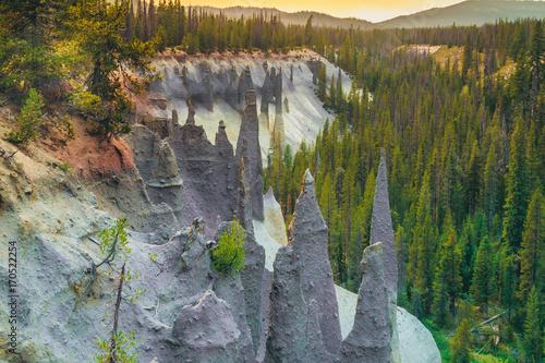 Pinnacles of Sand Creek Canyon Canvas Print