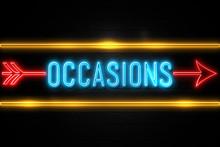 Occasions  - Fluorescent Neon ...