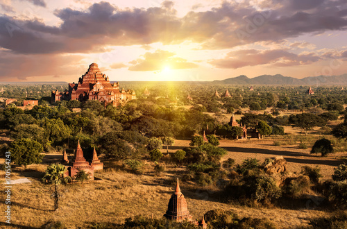 фотография Pagodas in Bagan