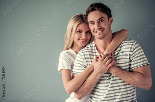 Fotografia  Beautiful young couple