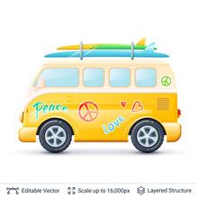 Classic Volkswagen Bus.