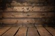 Holztextur Tisch und Wand