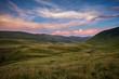 Mountains sunset Beautiful natural landscape