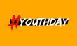 Bright template card of International Youth Day for banner, brochure, flyer, greeting, invitation, cover. youth day concept