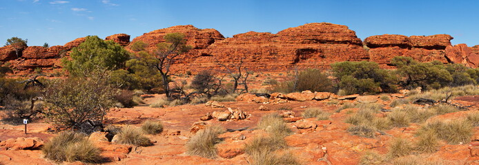 Kings Canyon NP in Australien