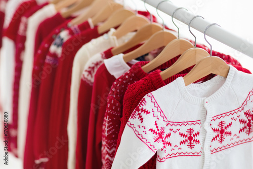 Christmas Dress Rack