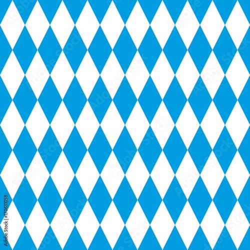 Bayern Muster Mit Edelweiss Rahmen Wall Mural 6