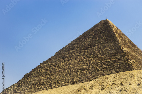 Photo Pyramid of Cheops against the sky