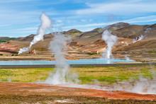 Myvatn Geothermal Area, Northe...