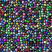Bright Colorful Mosaic Stones ...