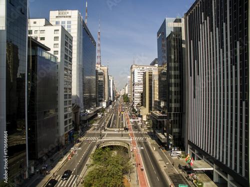 Sao Paulo, Brazil, August, 2017 Tablou Canvas