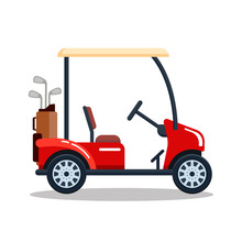 Vector Electric Golf Car With ...