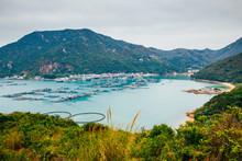 Lamma Island Sea Village Hiking Road, Nature Landscape In Hong Kong