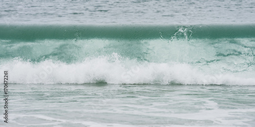 Spoed Foto op Canvas Water Crashing Wave